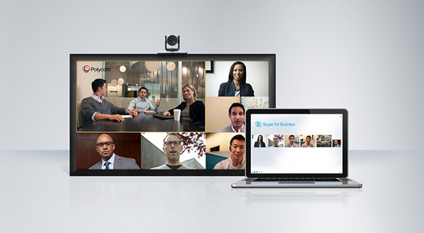 Videoconferencing Polycom skype for business For Conference